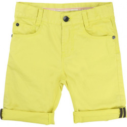 Vêtements Garçon Shorts / Bermudas HUGO Bermuda Hugo Boss Junior - Ref. J24433-552 Jaune