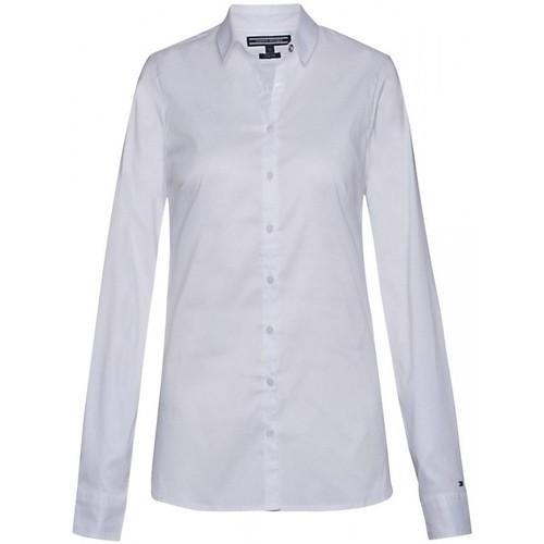 Vêtements Femme Chemises manches longues Tommy Hilfiger Chemise manches longues BLANC