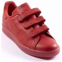 Chaussures Homme Baskets basses adidas Originals BASKET STAN SMITH CF ROUGE