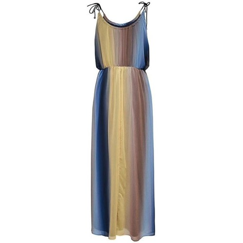 Vêtements Femme Robes longues Only AURA S/L MAXI DRESS Multicolore