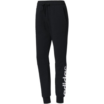 Vêtements Femme Pantalons de survêtement Adidas Athletics Pantalon Essentials Linear Noir / Blanc