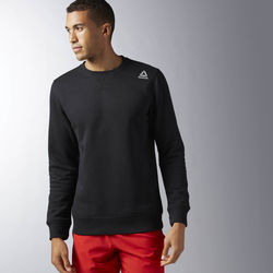 Vêtements Homme Sweats Reebok Sport Sweat Elements Fleece Crew Neck Noir