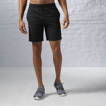 Vêtements Homme Shorts / Bermudas Reebok Sport Short Elements Jersey Noir