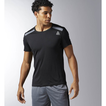 Vêtements Homme T-shirts manches courtes Reebok Sport T-shirt technique Workout Ready Noir