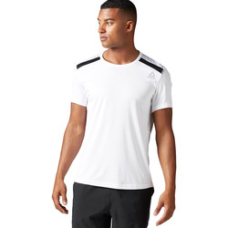 Vêtements Homme T-shirts manches courtes Reebok Sport T-shirt technique Workout Ready Blanc