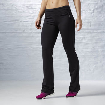 Vêtements Femme Pantalons de survêtement Reebok Sport Pantalon bootcut Workout Ready Fitted Noir