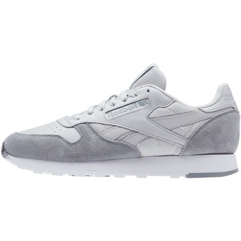 Chaussures Homme Baskets basses Reebok Classic Classic Leather MO Gris / Gris / Blanc