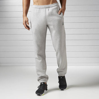 Vêtements Homme Sweats Reebok Sport Pantalon Elements Cuffed Fleece Gris
