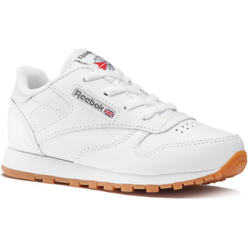 Chaussures Enfant Baskets basses Reebok Classic Classic Leather - Infant Blanc / Marron