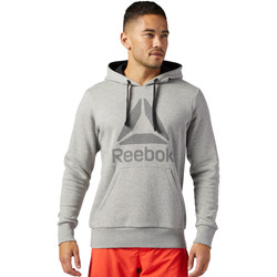Vêtements Homme Sweats Reebok Sport Sweat à capuche Workout Ready Gris / Noir