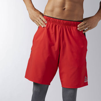 Vêtements Homme Shorts / Bermudas Reebok Sport Short Workout Ready Woven Red