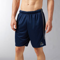 Vêtements Homme Shorts / Bermudas Reebok Sport Short Workout Ready Knit Bleu