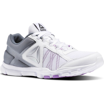 Chaussures Femme Fitness / Training Reebok Sport Yourflex Trainette 9.0 MT Blanc / Gris