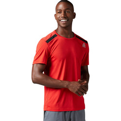 Vêtements Homme T-shirts manches courtes Reebok Sport T-shirt technique Workout Ready Red