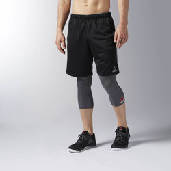 Vêtements Homme Shorts / Bermudas Reebok Sport Short Workout Ready Knit Noir