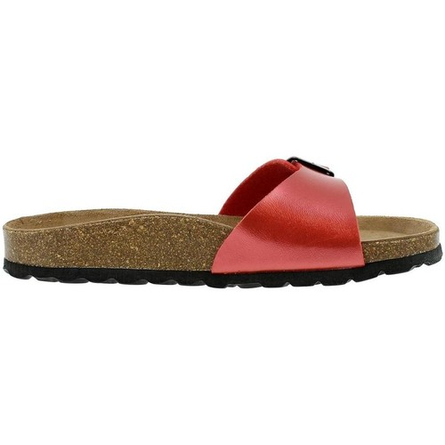 Chaussures Femme Mules La Maison De L'espadrille 3506 rouge