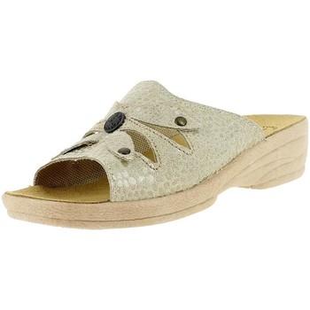 Chaussures Femme Mules Santafe croisochic beige