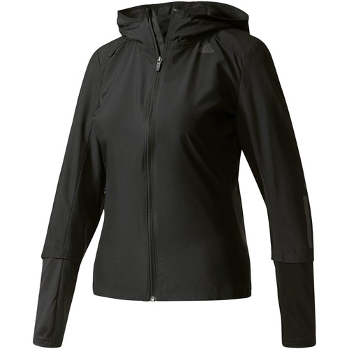 Vêtements Femme Polaires adidas Performance Coupe-vent Response Hooded Noir
