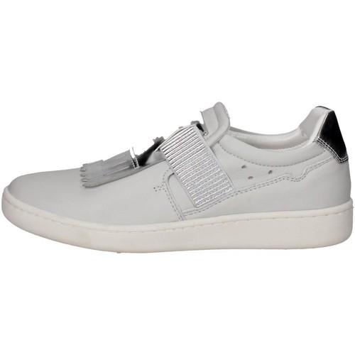 Chaussures Femme Baskets basses Keys 5058 Slip-on Chaussures Femme Blanc Blanc
