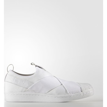 Chaussures Baskets basses adidas Originals Chaussure Superstar Slip-on Blanc / Noir / Gris