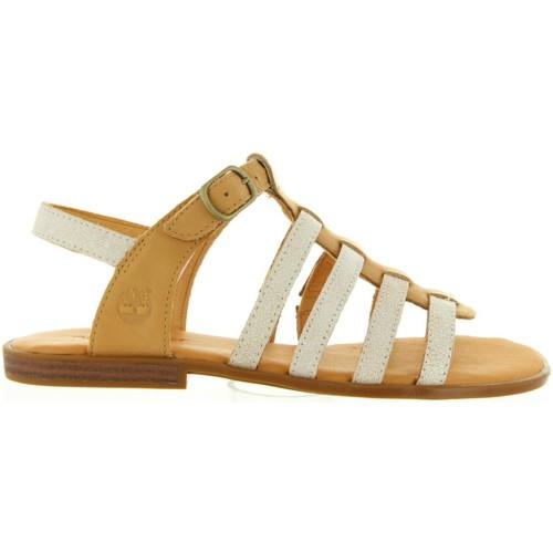 Chaussures Femme Sandales et Nu-pieds Timberland CA1G5T GIRLS Beige