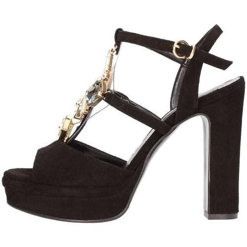 Chaussures Femme Sandales et Nu-pieds Silvana 783s BIJOUX SANDAL Femme noir noir