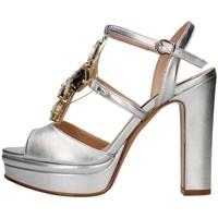 Chaussures Femme Sandales et Nu-pieds Silvana 783s BIJOUX SANDAL Femme Argent Argent