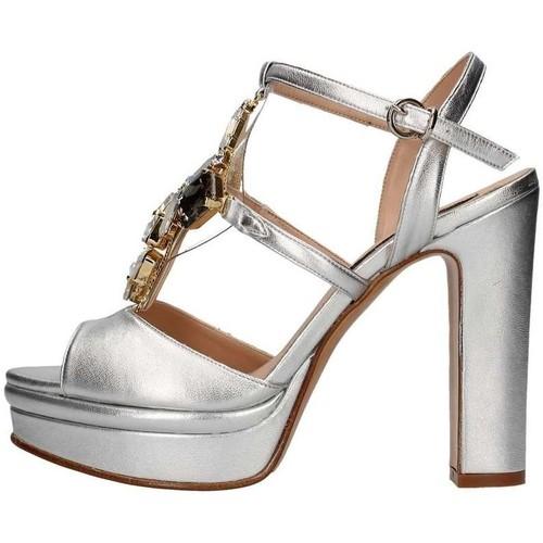 Chaussures Femme Sandales et Nu-pieds Silvana 783s Argent