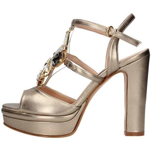 Chaussures Femme Sandales et Nu-pieds Silvana 783s BIJOUX SANDAL Femme champagne champagne