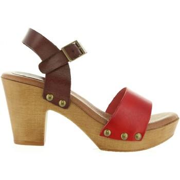 Chaussures Femme Sandales et Nu-pieds Cumbia 30551 Rojo