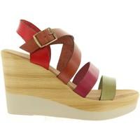 Chaussures Femme Sandales et Nu-pieds Cumbia 30588 Rojo