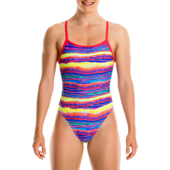 Vêtements Fille Maillots de bain 1 pièce Funkita Single Strap Girls Crystal Wave