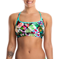 Vêtements Femme Maillots de bain séparables Funkita Sports Top Jungle Jam