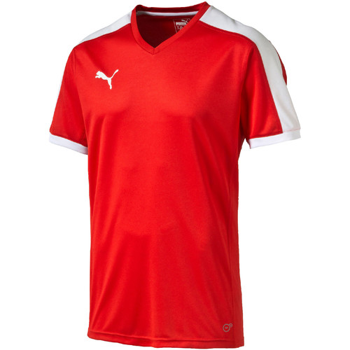 Vêtements T-shirts manches courtes Puma Indoor court shirt Rouge