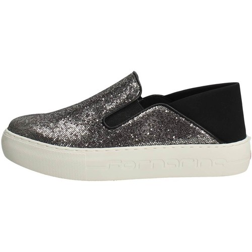 Chaussures Femme Slip ons Fornarina PE17YM1002V000 Slip-on Chaussures Femme Noir Noir