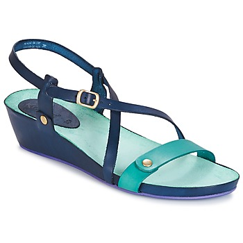 Chaussures Femme Sandales et Nu-pieds Kickers TASTE MARINE BLEU LAGON