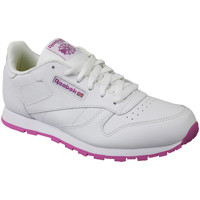 Chaussures Enfant Baskets basses Reebok Sport Classic Leather BS8044 White