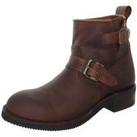 Chaussures Homme Boots Sendra boots Boots  Carol Sprinter en cuir ref_sen41032-marron marron