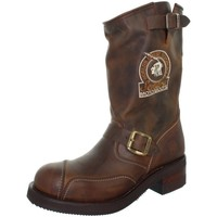 Chaussures Homme Bottes ville Sendra boots Bottes  Steel Mad Dog en cuir ref_sen41028-marron marron