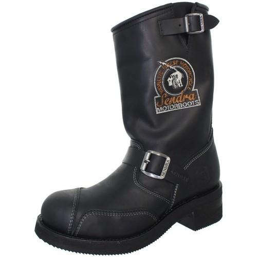 Chaussures Homme Bottes Sendra boots Bottes  Steel Sprinter en cuir ref_sen41027-noir noir