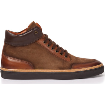 Chaussures Homme Baskets basses Heyraud Basket DOORS Marron