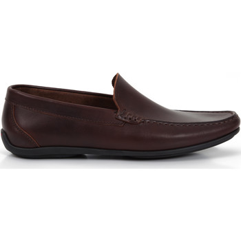 Chaussures Homme Mocassins Heyraud mocassin DROP Marron
