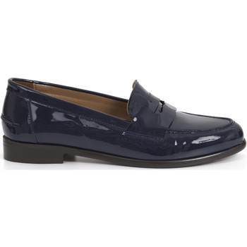 Chaussures Femme Mocassins Heyraud Penny loafer EVEN Bleu
