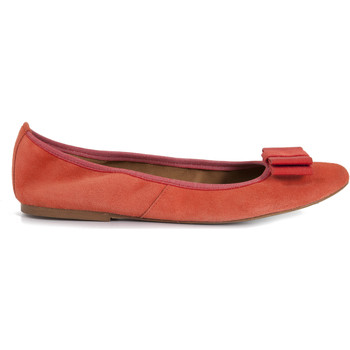 Chaussures Femme Ballerines / babies Heyraud Ballerine EBONY Orange