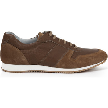 Chaussures Homme Baskets basses Heyraud Basket DOVILLE Marron