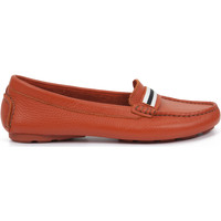 Chaussures Femme Mocassins Heyraud Mocassin EMELINE Orange