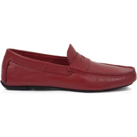 Chaussures Homme Mocassins Heyraud Driver Eliott Rouge