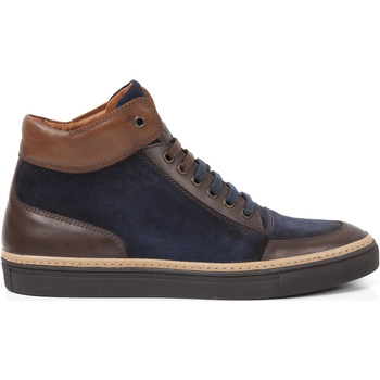 Chaussures Homme Baskets montantes Heyraud Baskets Doors Bleu