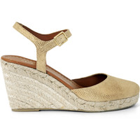 Chaussures Femme Espadrilles Heyraud Espadrille Eos Or