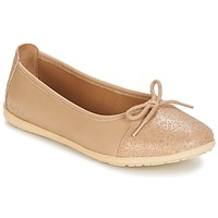 Chaussures Fille Ballerines / babies Kickers EDANA BEIGE